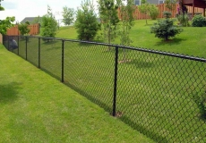 chain link vinyl coated