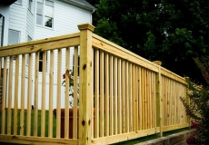 2x2 Picket Fence
