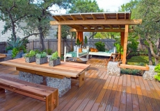 Amazing Deck with pergola