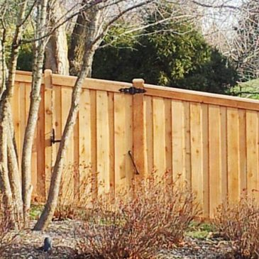 The different types of non-picket wooden fences