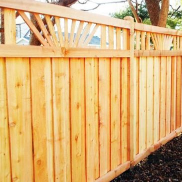 Plan Ahead On A Future Fence or Deck